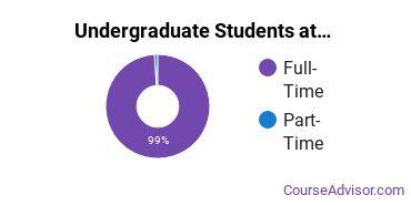 Full-Time vs. Part-Time Undergraduate Students at  Kansas City Art Institute