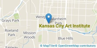 Location of Kansas City Art Institute