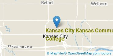 Location of Kansas City Kansas Community College