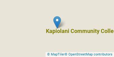 Location of Kapiolani Community College