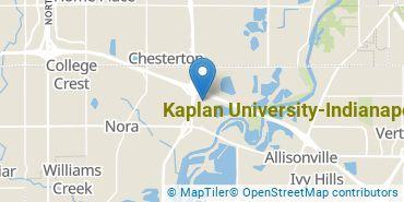 Location of Kaplan University-Indianapolis