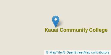 Location of Kauai Community College