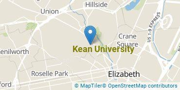 Location of Kean University