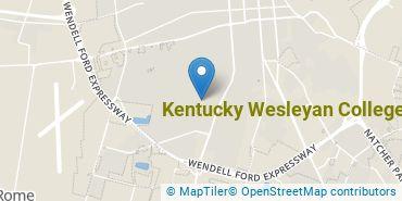 Location of Kentucky Wesleyan College