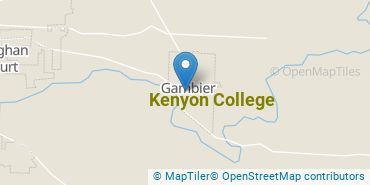 Location of Kenyon College