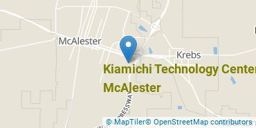 Location of Kiamichi Technology Center-McAlester