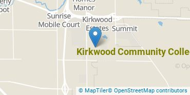 Location of Kirkwood Community College