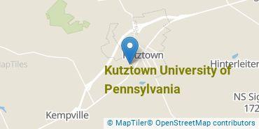 Location of Kutztown University of Pennsylvania