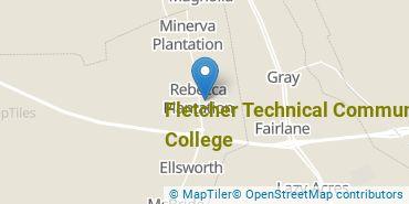 Location of Fletcher Technical Community College