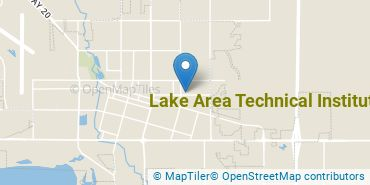 Location of Lake Area Technical Institute
