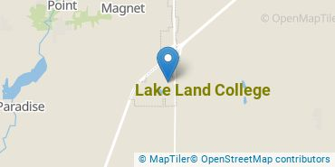 Location of Lake Land College