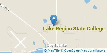 Location of Lake Region State College