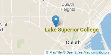 Location of Lake Superior College