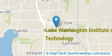 Location of Lake Washington Institute of Technology