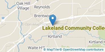 Location of Lakeland Community College