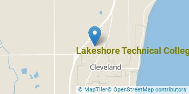 Location of Lakeshore Technical College