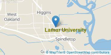 Location of Lamar University