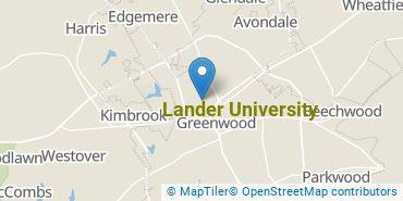Location of Lander University