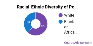 Racial-Ethnic Diversity of Political Science & Government Majors at Lander University