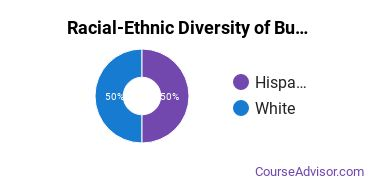 Racial-Ethnic Diversity of Business Administration & Management Majors at Lane Community College