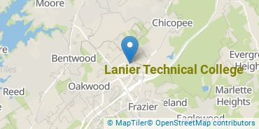 Location of Lanier Technical College