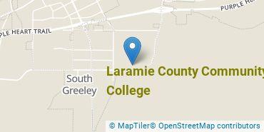Location of Laramie County Community College