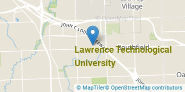 Location of Lawrence Technological University