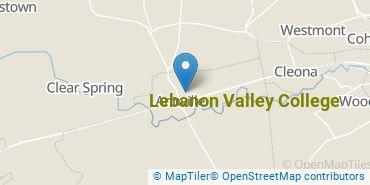 Location of Lebanon Valley College