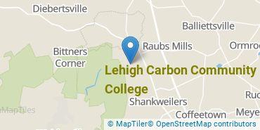 Location of Lehigh Carbon Community College