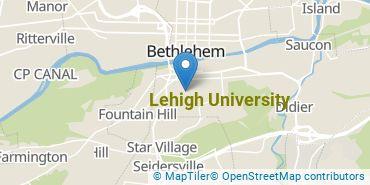 Location of Lehigh University