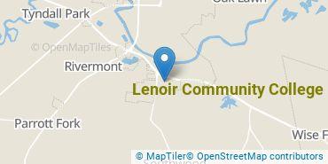 Location of Lenoir Community College