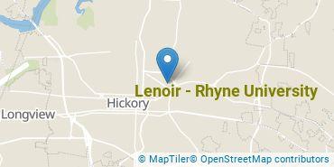 Location of Lenoir - Rhyne University