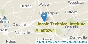Location of Lincoln Technical Institute - Allentown