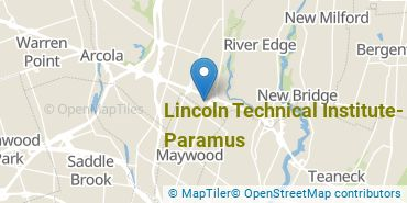Location of Lincoln Technical Institute - Paramus
