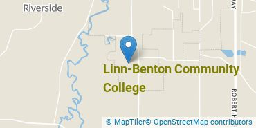 Location of Linn-Benton Community College
