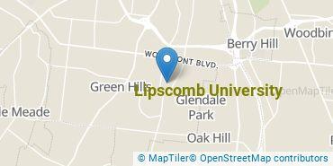 Location of Lipscomb University