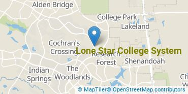 Location of Lone Star College System