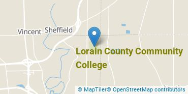 Location of Lorain County Community College