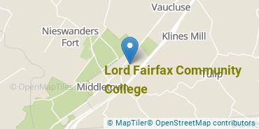 Location of Lord Fairfax Community College
