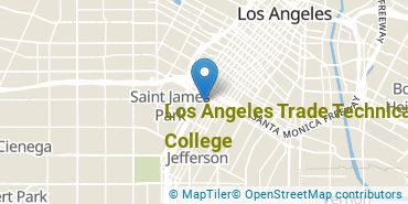 Location of Los Angeles Trade Technical College