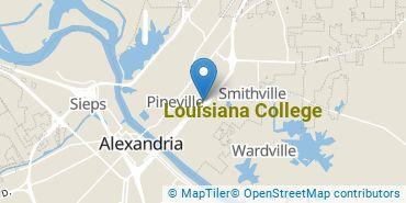 Location of Louisiana College