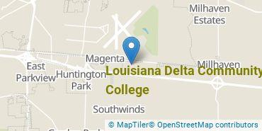 Location of Louisiana Delta Community College