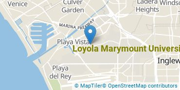 Location of Loyola Marymount University