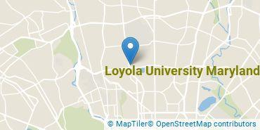 Location of Loyola University Maryland