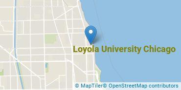 Location of Loyola University Chicago