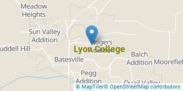 Location of Lyon College