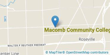 Location of Macomb Community College