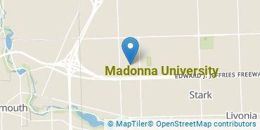 Location of Madonna University
