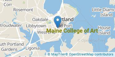 Location of Maine College of Art