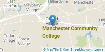 Location of Manchester Community College
